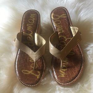 Sam Edelman Romy cork wedge sandals